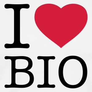 I LOVE BIO - Men's Premium T-Shirt