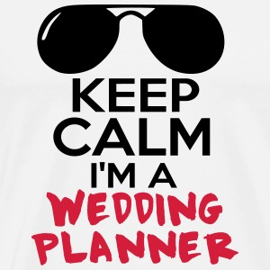 WEDDING PLANNER  3 Tabliers - T-shirt Premium Homme