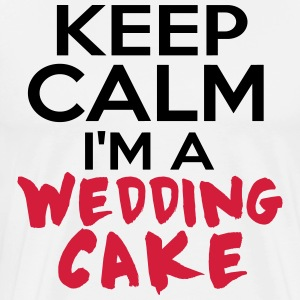 WEDDING CAKE Tabliers - T-shirt Premium Homme