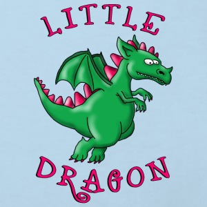 little_dragon_04201602 Baby Lätzchen - Kinder Bio-T-Shirt
