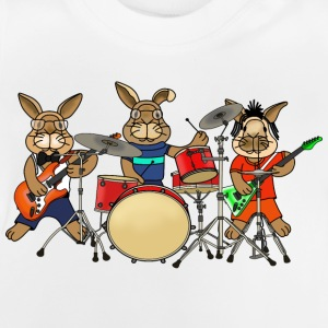 Rabbit music band t-shirt for kids - Baby T-Shirt