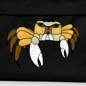 Yellow crab t-shirt for women - Kids' Backpack