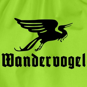 Wandervogel text T-shirts - Gymtas