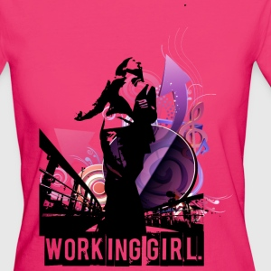 Working Girl. - Frauen Bio-T-Shirt
