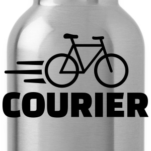 Bike courier T-Shirts - Trinkflasche