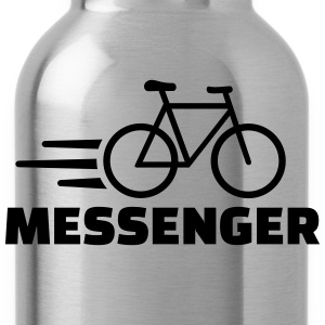 Bike messenger T-Shirts - Trinkflasche