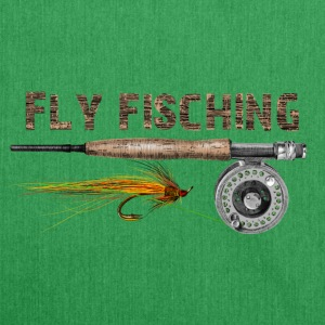 Fly fishing T-Shirts - Shoulder Bag made from recycled material