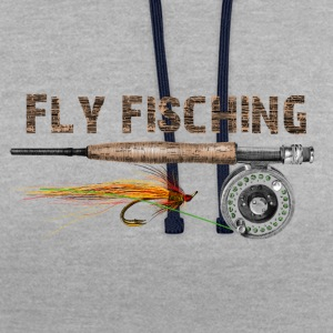 Fly fishing Tee shirts - Sweat-shirt contraste