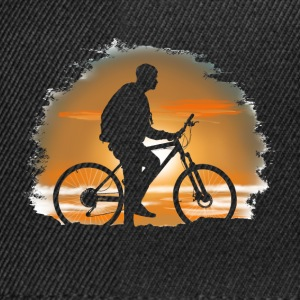 Bicycle trip Long sleeve shirts - Snapback Cap