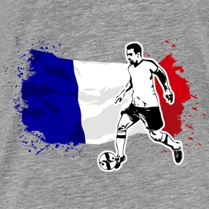Soccer - Fußball - France Flag Sweat-shirts - T-shirt Premium Homme