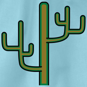 grote woestijn cactus ontwerp patroon T-shirts - Gymtas