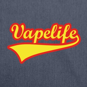 Vape Design Vapelife T-Shirts - Shoulder Bag made from recycled material