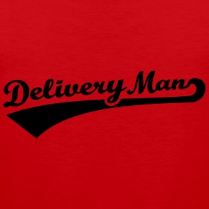 Delivery man T-Shirts - Männer Premium Tank Top