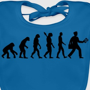 Evolution Briefträger T-Shirts - Baby Bio-Lätzchen