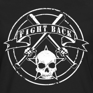 fight back - Männer Premium Langarmshirt
