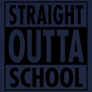 Straight Outta School T-shirts - Basebollkeps