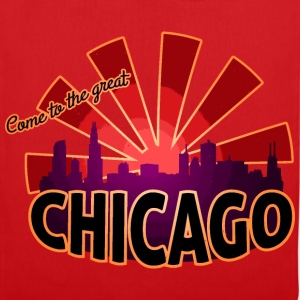 come to great chicago T-Shirts - Stoffbeutel