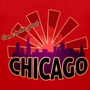 come to great chicago T-Shirts - Männer Premium Tank Top