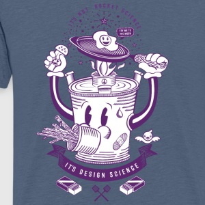 Washed violet MR Rocket Stove T-Shirts - Men's Premium T-Shirt