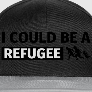 I could be a refugee Sweat-shirts - Casquette snapback