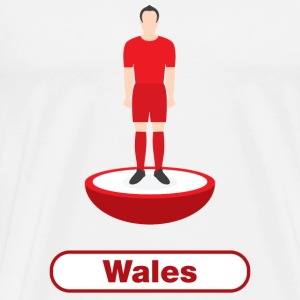 Wales football  - Men's Premium T-Shirt