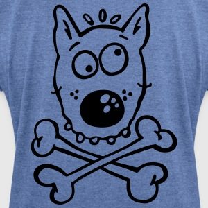 Pirate Dog Hoodies & Sweatshirts - Women's T-shirt with rolled up sleeves