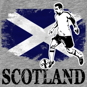 Soccer - Fußball - Scotland Flag Hoodies & Sweatshirts - Men's Premium T-Shirt