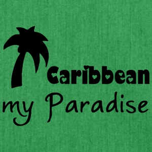 Caribbean Paradise T-Shirts - Shoulder Bag made from recycled material