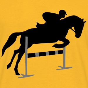 riding, horse, equestrian Topper - T-skjorte for menn