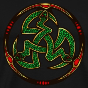 Serpent Triskellion Hoodies & Sweatshirts - Men's Premium T-Shirt