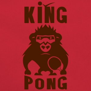 gorille king pong raquette ping Tee shirts - Sac Retro
