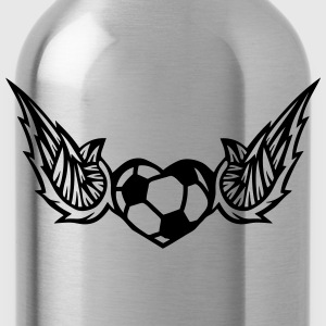 football soccer wing logo 28042 T-Shirts - Water Bottle