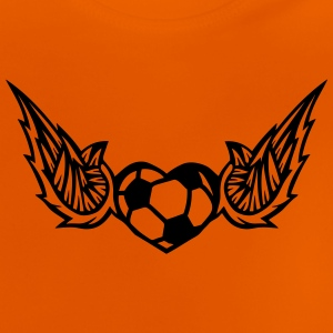 football soccer wing logo 28042 Shirts - Baby T-Shirt