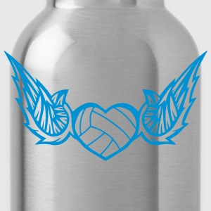 volleyball waterpolo wing logo 2804 T-Shirts - Water Bottle