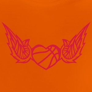 basketball wing logo 2804 Shirts - Baby T-Shirt