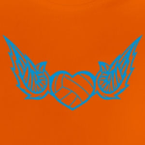 volleyball waterpolo wing logo 2804 Shirts - Baby T-Shirt