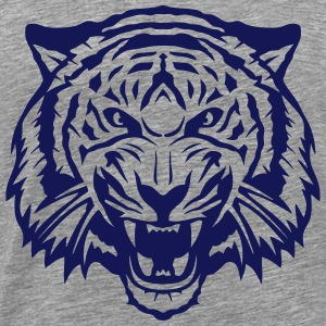 Tiger head roared 2704 Tops - Men's Premium T-Shirt
