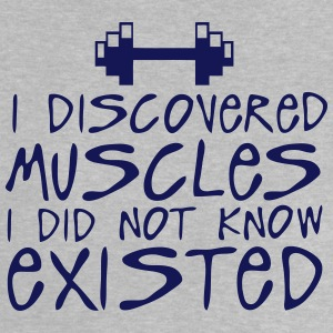 discovered muscles did not existed  Shirts - Baby T-Shirt