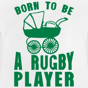 rugby landau born player to be Tee shirts - T-shirt Bébé