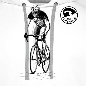 racing bicycle T-shirts - Herre Premium hættetrøje