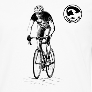 racing bicycle T-Shirts - Men's Premium Longsleeve Shirt