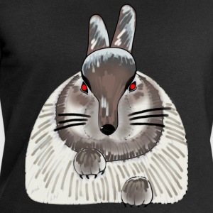 Evil bunny t-shirt for teens - Men's Sweatshirt by Stanley & Stella