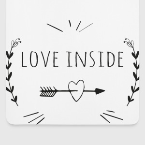 Love inside Tee shirts - Tapis de souris (format portrait)