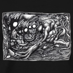Grendel Mother Dream by Brian Benson, Full-colour  - Men's Premium T-Shirt