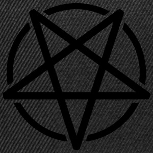 Pentagram Tee shirts - Casquette snapback