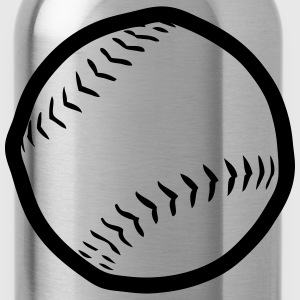 Ball baseball  2504 T-Shirts - Water Bottle
