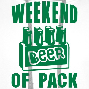 weekend of pack beer alcool quote  Aprons - Men's Premium Hoodie