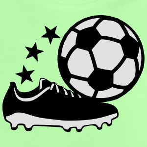 Shoe soccer ball 2204 Shirts - Baby T-Shirt