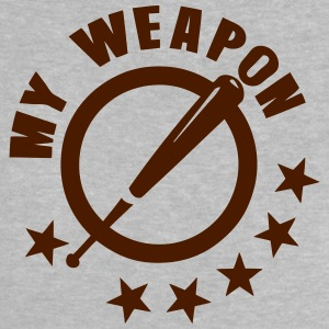 batte baseball my weapon 1 Tee shirts - T-shirt Bébé