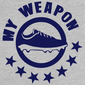 soccer shoe my weapon 1 Shirts - Baby T-Shirt